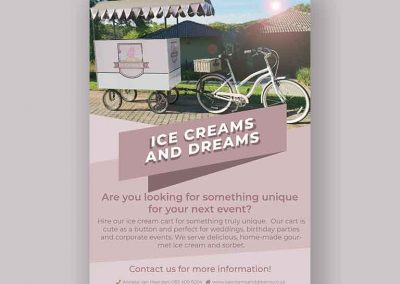Ice Creams and Dreams – Flyer Design