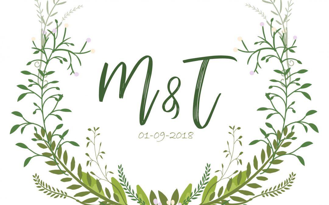Tanya & Marnus Wedding Stationary