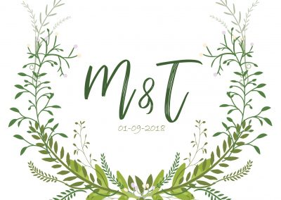 Tanya & Marnus Wedding Stationary